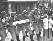 nazi on poland line