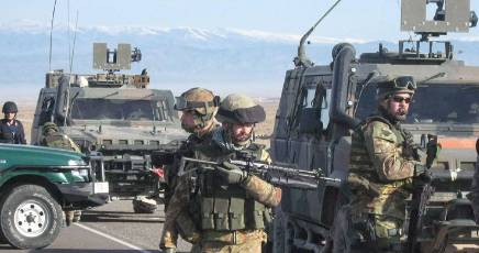 militari in missione