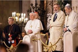 Benedetto XVI in sinagoga
