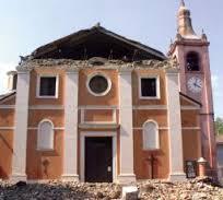 chiesa a pezzi