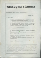 Rassegna N. 002 – Anno II, Dicembre 1983