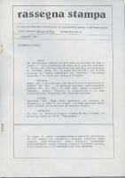 Rassegna N. 005 – Anno IV, Maggio 1985