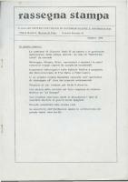 Rassegna N. 012- Anno V, Ottobre 1986