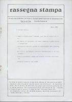Rassegna N. 030 – Anno VI, Marzo 1987