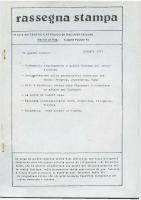 Rassegna N. 032 – Anno VI, Ottobre 1987