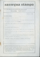 Rassegna N. 034 – Anno VII, Febbraio 1988