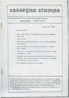 Rassegna N. 035- Anno VII, Marzo-Aprile 1988