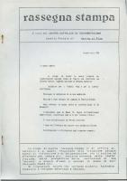 Rassegna N. 036 – Anno VII, Giugno-Luglio 1988