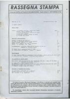 Rassegna N. 052 – Anno IX, Settembre-Ottobre 1990