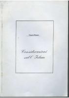 Rassegna N. 053 – Considerazioni sull'Islam – Anno IX, Novembre-Dicembre 1990