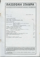 Rassegna N. 054 – Anno X, Gennaio-Febbraio 1991