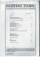 Rassegna N. 062 – Anno XI, Maggio-Giugno 1992