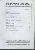 Rassegna N. 064 – Anno XI, Ottobre 1992