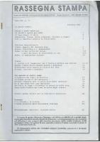 Rassegna N. 071 – Anno XII, Dicembre 1993