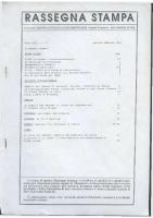 Rassegna N. 072 – Anno XIII, Gennaio-Febbraio 1994