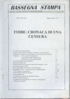 Rassegna N. 092 – Anno XVI, Maggio-Giugno 1997