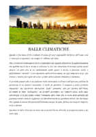 BALLE CLIMATICHE